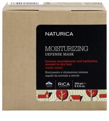 Rica Naturica Moisturizing Defense mascarilla hidratante protectora de color para cabello normal y seco 3