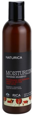 Rica Naturica Moisturizing Defense champú hidratante para proteger el color  para cabello normal y seco
