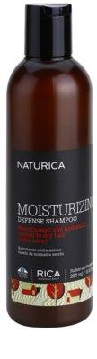 Rica Naturica Moisturizing Defense hydratisierendes Shampoo zum Schutz der Farbe Für normales bis trockenes Haar