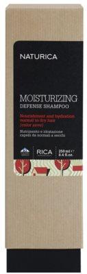 Rica Naturica Moisturizing Defense Champô hidratante para proteção da cor para cabelo normal a seco 2