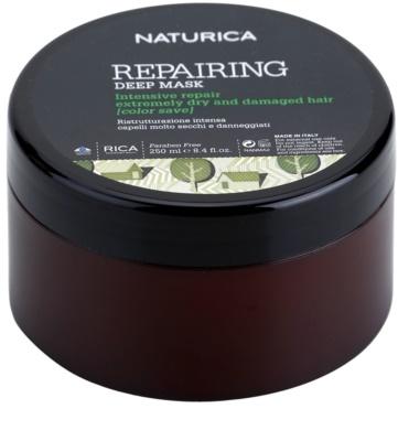 Rica Naturica Repairing Deep regenerierende Maske mit Tiefenwirkung für sehr trockenes und beschädigtes Haar