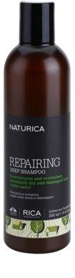 Rica Naturica Repairing Deep champô de restauração profunda para cabelo seco a danificado