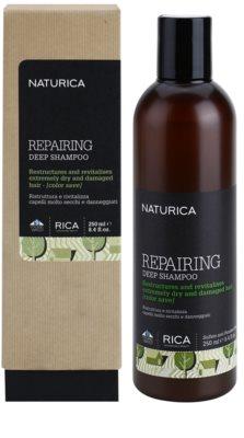 Rica Naturica Repairing Deep глибоко відновлюючий шампунь для сухого або пошкодженого волосся 1