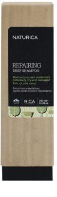 Rica Naturica Repairing Deep глибоко відновлюючий шампунь для сухого або пошкодженого волосся 2