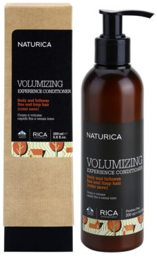 Rica Naturica Volumizing Experience objemový kondicionér pro jemné a zplihlé vlasy 1