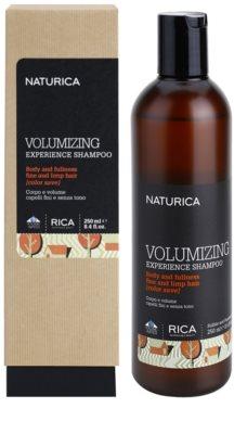Rica Naturica Volumizing Experience sampon a dús hajért finom és lesimuló hajra 1