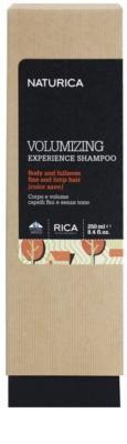 Rica Naturica Volumizing Experience sampon a dús hajért finom és lesimuló hajra 2
