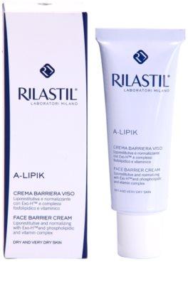 Rilastil A-Lipic защитен крем  за суха или много суха кожа 1