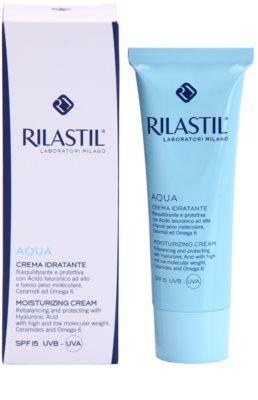 Rilastil Aqua creme facial hidratante SPF 15 1
