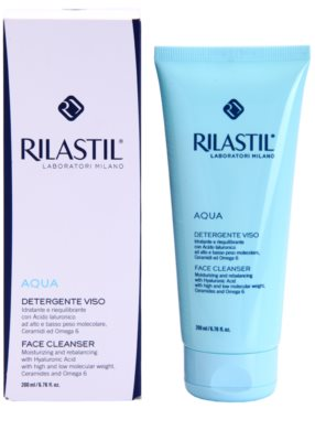 Rilastil Aqua Reinigungsemulsion für die Haut 1