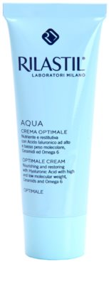 Rilastil Aqua поживний крем для шкіри обличчя