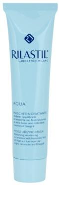 Rilastil Aqua Hydratisierende Maske mit Hyaluronsäure