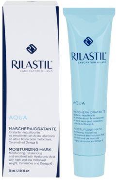 Rilastil Aqua hydratační maska s kyselinou hyaluronovou 1
