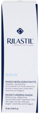 Rilastil Aqua hydratační maska s kyselinou hyaluronovou 2