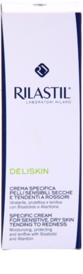 Rilastil Deliskin зволожуючий захисний крем для чутливої шкіри схильної до почервонінь 2