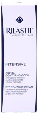 Rilastil Intensive crema para contorno de ojos antiarrugas, antibolsas y antiojeras 2