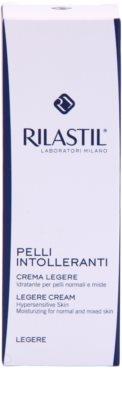 Rilastil Intolerant Skin leichte feuchtigkeitsspendende Creme für empfindliche Haut 2