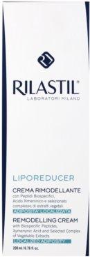 Rilastil Liporeducer crema remodeladora corporal 2