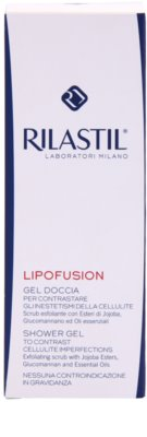 Rilastil Lipofusion delikatny żel peelingujący przeciw cellulitowi 2
