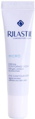 Rilastil Micro krema za predel okoli oči proti gubam, zabuhlosti in temnim kolobarjem