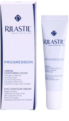 Rilastil Progression Augencreme gegen Falten, Schwellungen und Augenringe 1
