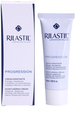 Rilastil Progression feuchtigkeitsspendende Creme gegen Falten für reife Haut 1
