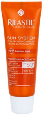Rilastil Sun System crema facial protectora  SPF 50+