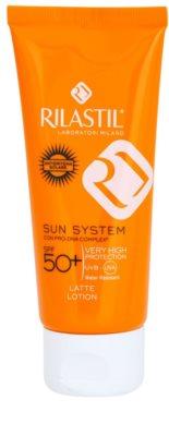 Rilastil Sun System защитно мляко за загар SPF 50+