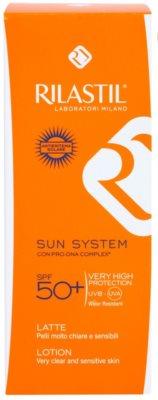 Rilastil Sun System schützende Sonnenmilch SPF 50+ 2