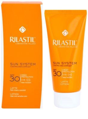 Rilastil Sun System Napfény elleni védelem SPF 30 1