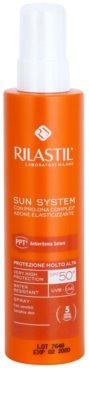 Rilastil Sun System zaščitni losjon za sončenje v pršilu SPF 50+