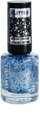 Rimmel Glitter Medium Coverage Nagellack mit Glitzerteilchen