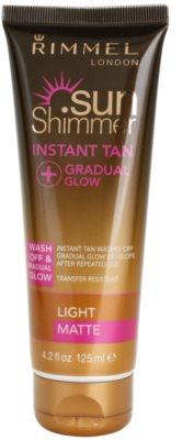 Rimmel Sun Shimmer Instant Tan smývatelný samoopalovací gel