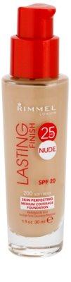 Rimmel Lasting Finish 25H Nude base duradoura SPF 20 2