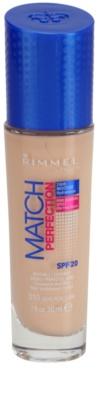 Rimmel Match Perfection base líquida SPF 20