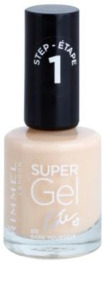 Rimmel Super Gel By Kate esmalte de gel para uñas sin usar lámpara UV/LED