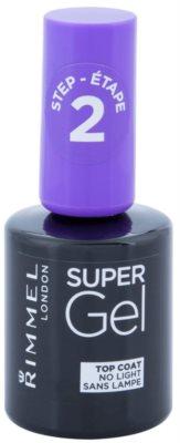 Rimmel Super Gel Step 2 glänzender Deck-Schutzlack für die Fingernägel