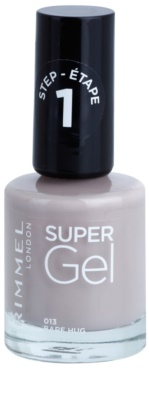 Rimmel Super Gel Step 1 gel de unghii fara utilizarea UV sau lampa LED