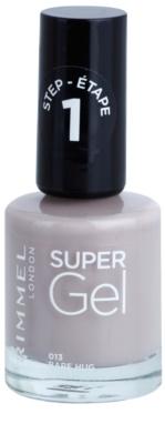 Rimmel Super Gel Step 1 géles körömlakk UV/LED lámpa használata nélkül