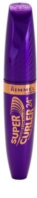 Rimmel Supercurler 24H Volumen-Mascara für geschwungene Wimpern 1