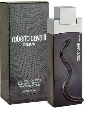 Roberto Cavalli Black Eau de Toilette pentru barbati