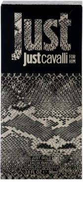 Roberto Cavalli Just Cavalli Gold Eau De Parfum pentru barbati 4