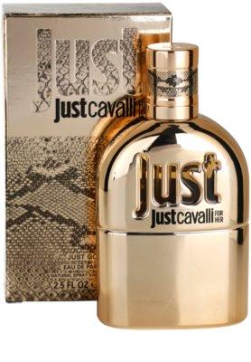 Roberto Cavalli Just Cavalli Gold eau de parfum para mujer 1