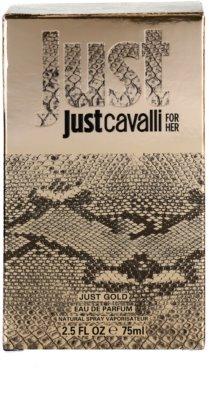 Roberto Cavalli Just Cavalli Gold eau de parfum para mujer 4