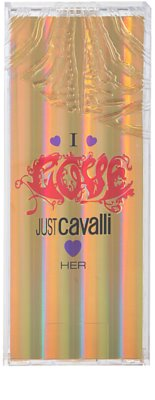 Roberto Cavalli Just Cavalli I Love Her Eau de Toilette pentru femei