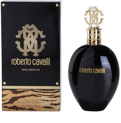 Roberto Cavalli Nero Assoluto Eau de Parfum para mulheres
