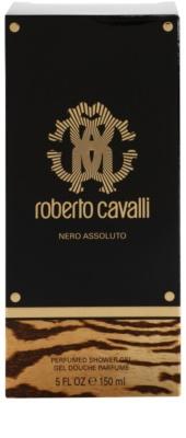 Roberto Cavalli Nero Assoluto gel za prhanje za ženske 1