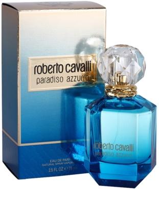 Roberto Cavalli Paradiso Azzurro eau de parfum para mujer 1