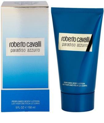 Roberto Cavalli Paradiso Azzurro leche corporal para mujer