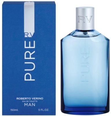 Roberto Verino Pure Man eau de toilette para hombre